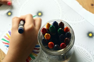 School refusal - Colouring mindfully